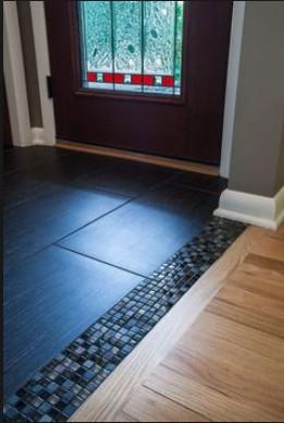 rubber tiles for kitchen floor?