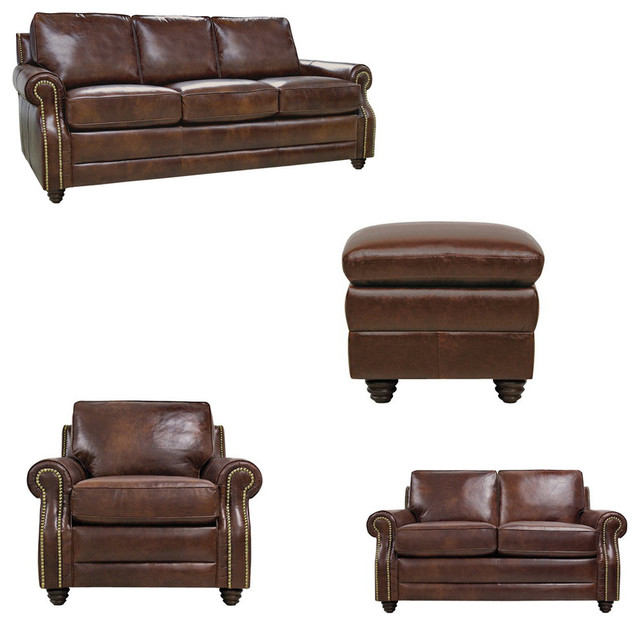 Levi living room set 4 piece set traditional living for 6 piece living room furniture sets