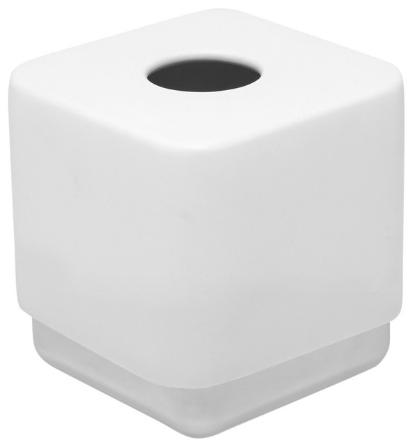 Umbra Junip Tissue Box, White
