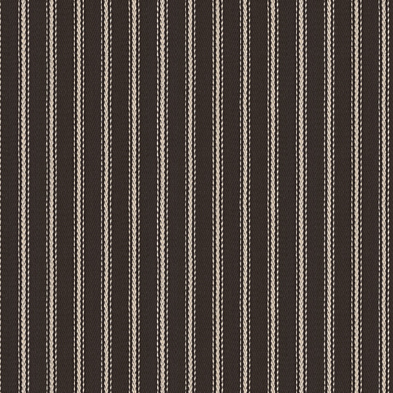 Black and White Pinstripe Woven Fabric