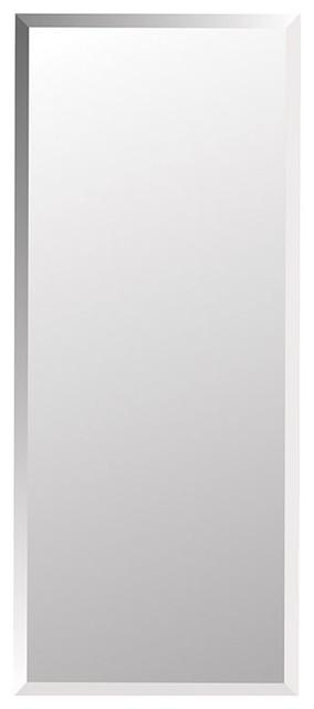 "Horizon 16"" X 36"" Recess Mount Glass Shelves Medicine Cabinet."