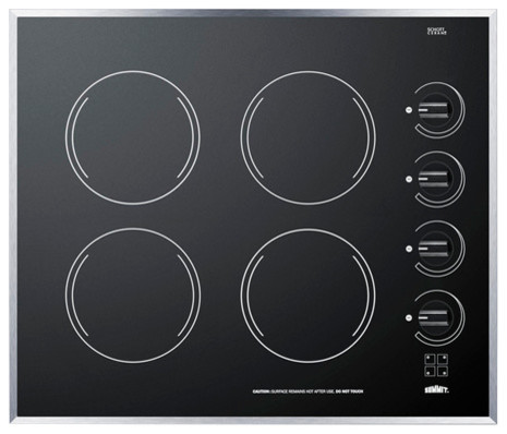 24 Smoothtop Electric Cooktop.
