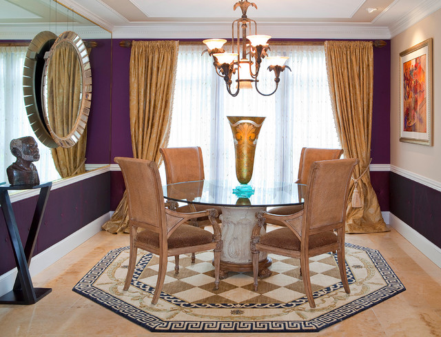 M residence traditional dining room other by for Decoria interior designs