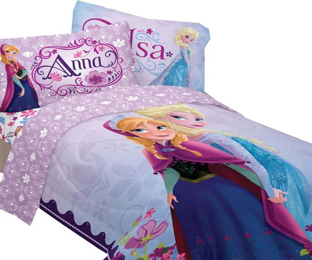 Disney Frozen Bed Sheet Set Elsa Anna Celebrate Love