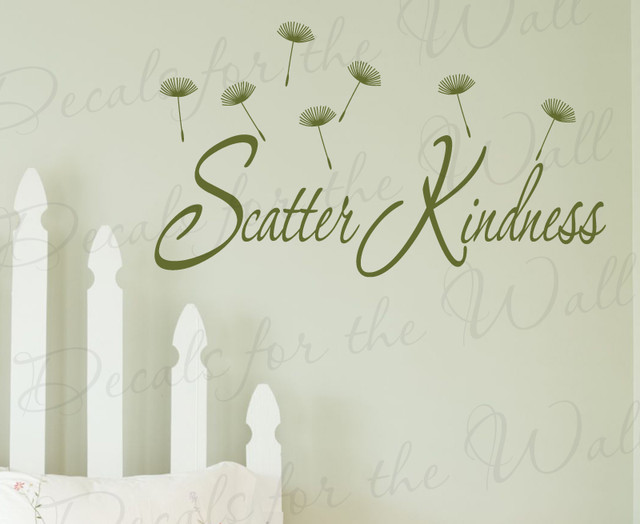Wall decal quote sticker vinyl art removable mural letter for Birkenrinde wall mural