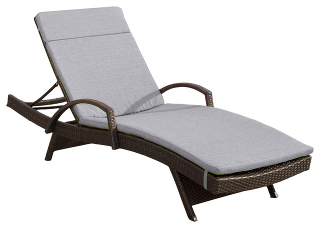 chaise lounge outdoor daybed patio lowes cushions amazon can