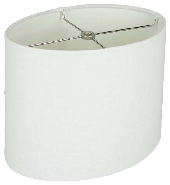 Savannah Linen Drum Shade White 10