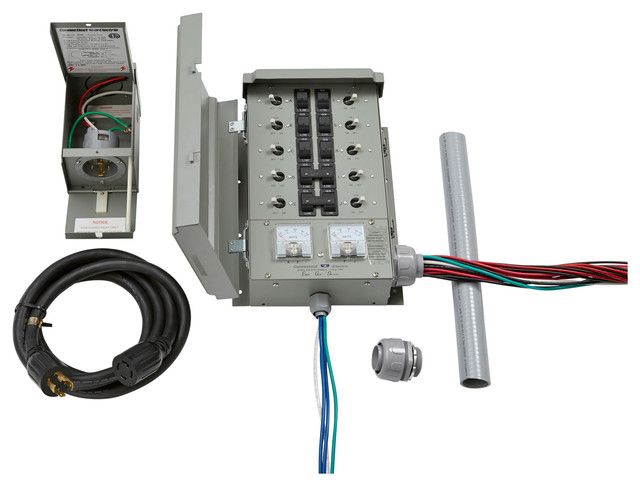 30 Amp Transfer Switch Kit - Industrial - Electrical Supplies - by Replacement Circuit Breakers