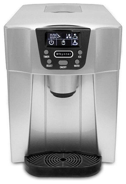Whynter Countertop Direct Connection Ice Maker And Water Dispenser.
