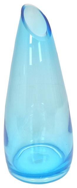 Soho Glass Vase, Blue