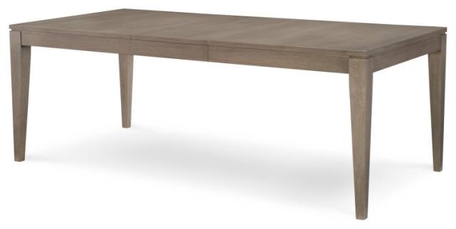 Highline Leg Table, Greige