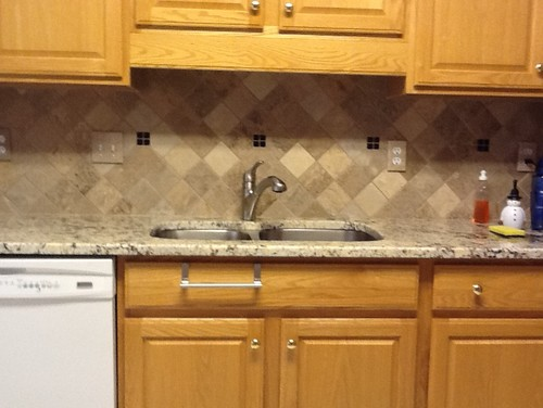 Need help choosing paint to match new granite and backsplash