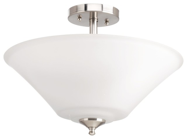 ed545468a27 Progress Lighting P3864-09 Joy 3-Light Semi-Flush Convertible ...