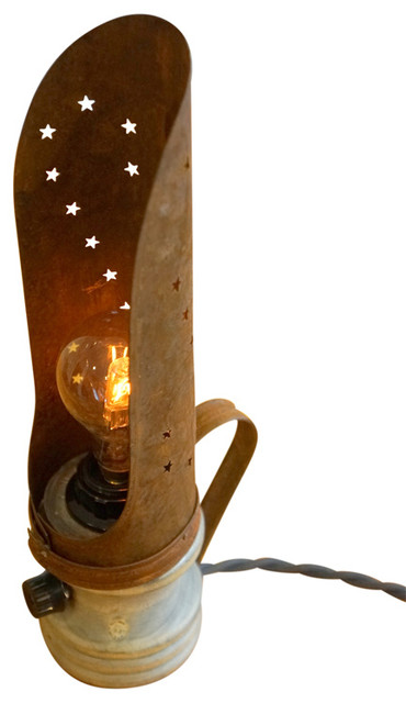 Retro Farmhouse Desk Lamp Industrial Novelty Lighting By Loft Essentials