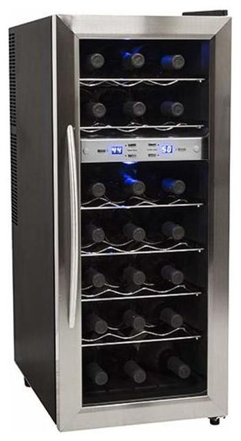 Edgestar twr215e 13 wide 21 bottle wine cooler for Beer and wine cooler table