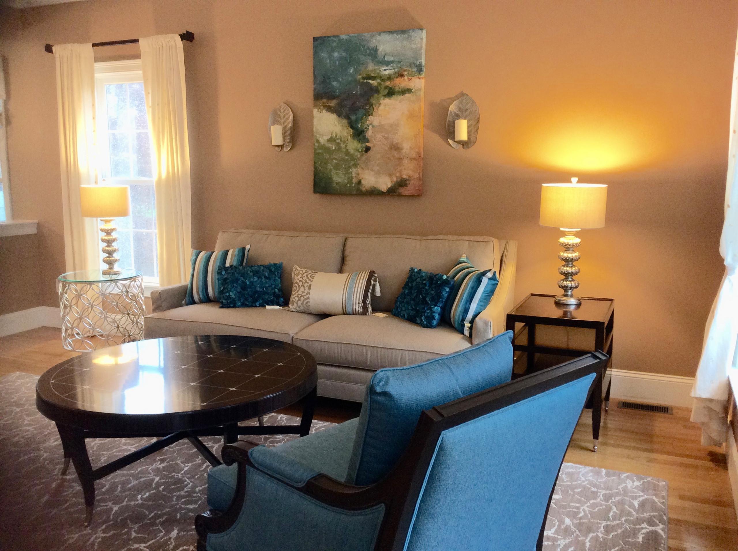 Norwell MA living room