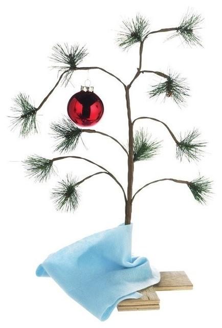 Charlie Brown Christmas Tree Image.Product Works Peanuts Charlie Brown Christmas Tree 24