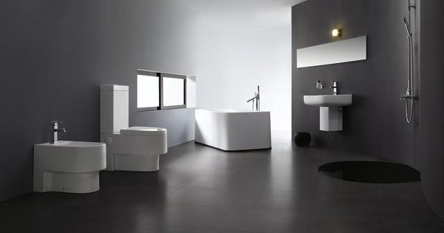 Abruzzi Modern Bathroom Toilet - Modern-bathroom-toilet