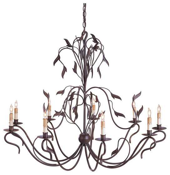 Currey And Company Arcadia Chandelier Large