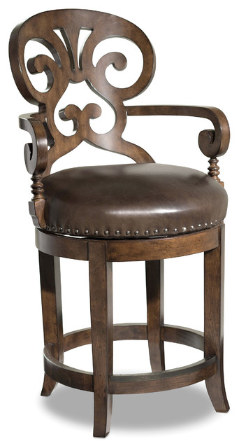 Phenomenal Jameson Traditional Leather Counter Stool Ibusinesslaw Wood Chair Design Ideas Ibusinesslaworg