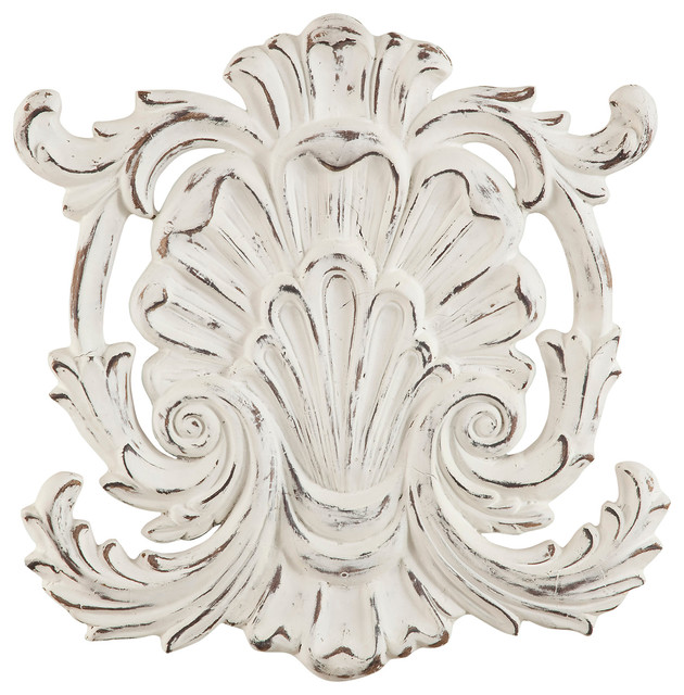 Belgian Weathered Shell Wall Hanging Art.