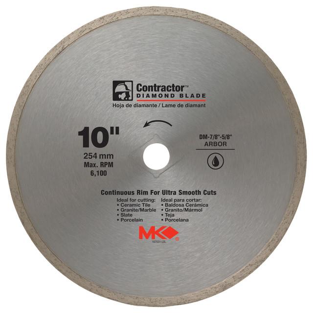 Mk Diamond 167031 10 Contractor Diamond Blade.