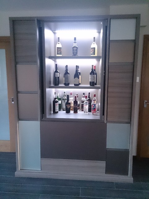 Bespoke Luxury Drinks Cabinet - Contemporary - London - by Lisa Melvin Design