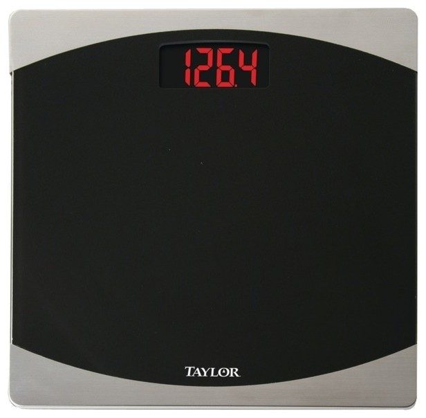 Glass Digital Scale Contemporary Bathroom Scales By