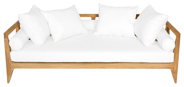 Limited 300 Daybed With Canvas Natural Cushions.