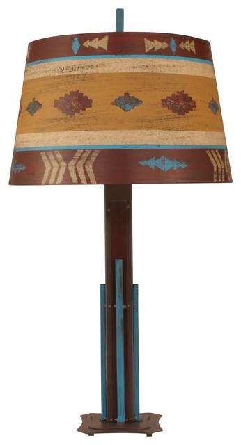 Coast lamp rustic living iron rod table lamp cheyenne iron rod table lamp southwestern table lamps aloadofball Choice Image