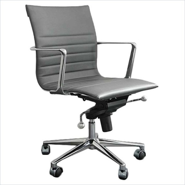 modern desk chair eurostyle kyler low back office chair modern office 30253