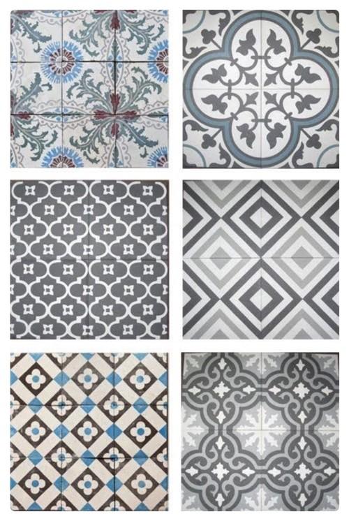 Cement Encaustic Cuban Mosaic Tiles Miami Fl