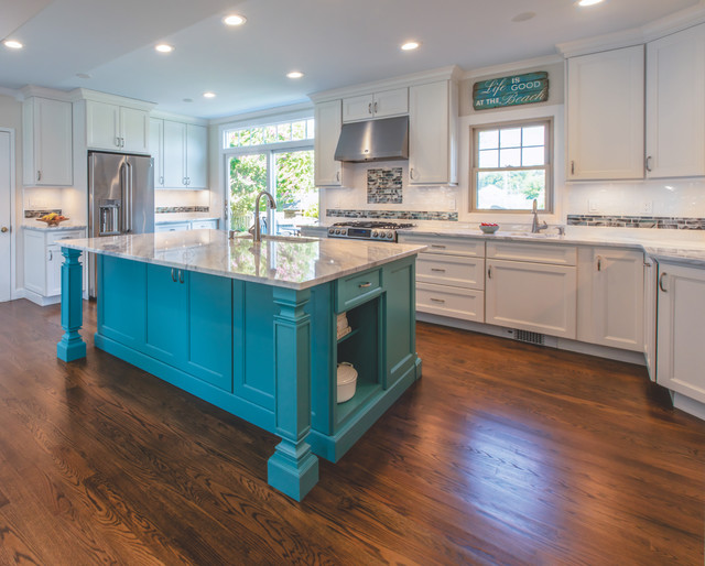 Coastal Kitchen - Island Heights, NJ - Beach Style - New ...
