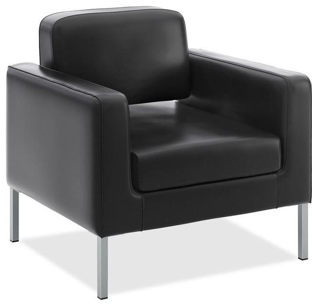 Basyx Vl887 Leather Club Chair.