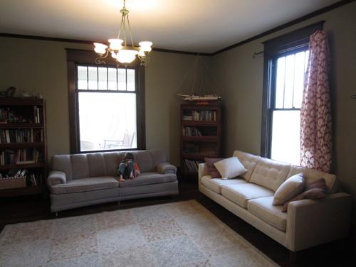 Dark Living Room Needs A Bright Makeover!
