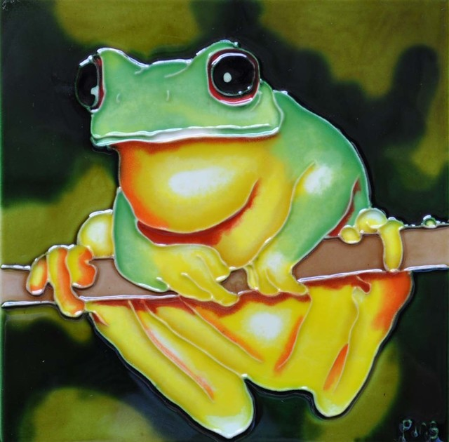 Yellow-Bellied Frog Tile.