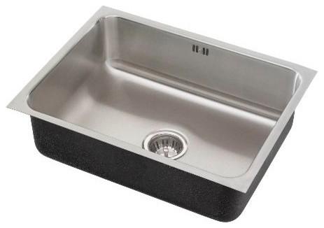 Just Single Bowl Undermount 18x21x10.5 Outdoor Sink With Integra Flow 18 Gauge.