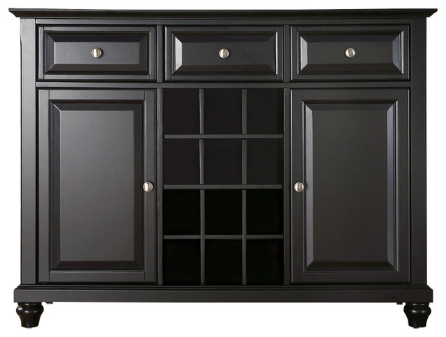 dining room sideboard buffet cabinet black buffets and sideboards