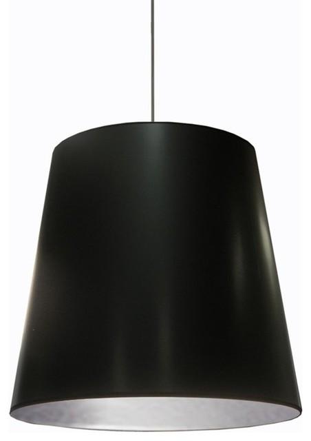 Dainolite 1 Light Oversized Drum Pendant Large