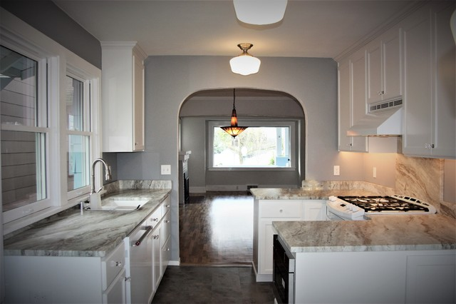 Historic Home Whole House Remodel craftsman-kitchen