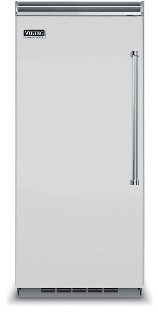 "Viking Professional 36"" Built In Counter Depth Refrigerator, Stainless Steel."