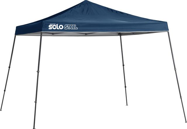 Solo Steel 90 11&x27;x11&x27; Slant Leg Canopy, Midnight Blue.