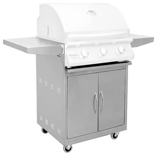 """Stainless Steel Sizzler 26"""" Cart"""
