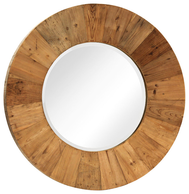 Reclaimed Wood Mirror Frame Rustic Wall Mirrors By Design Mix Furniture