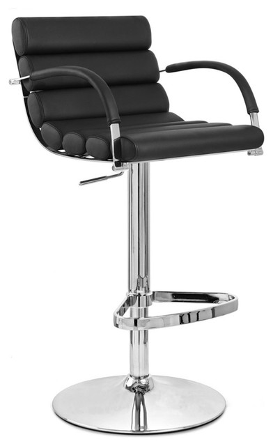 black and chrome furniture. ego swivel barstool with chrome base black contemporarybarstoolsand and furniture e