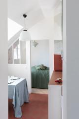 Avant/Après : Sous les toits, 35 m2 atypiques remaniés avec style
