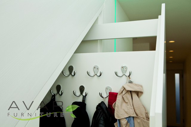 Under Stairs Storage Solution Contemporary