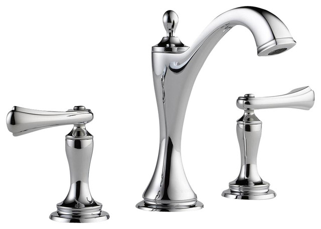 Signature Hardware Victorian Widespread Bathroom Faucet: Charlotte: Two Handle Widespread Lavatory Faucet