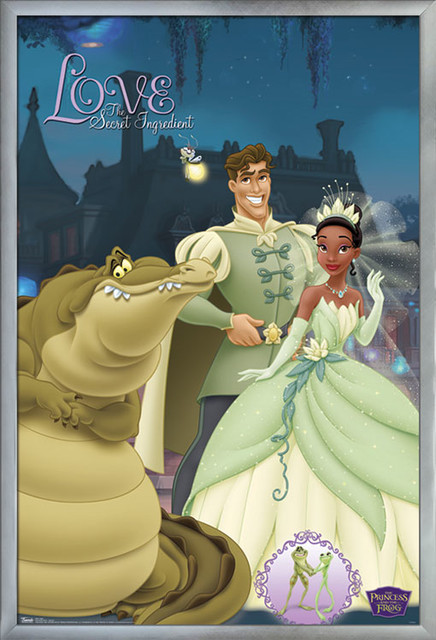 Princess Frog Group Poster Contemporary Kids Wall Decor By Trends International