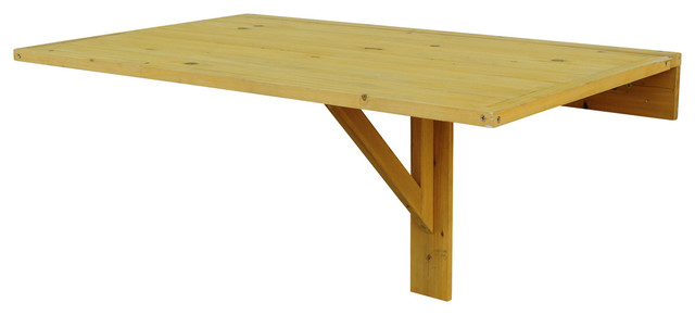 wall mounted drop leaf table - contemporary - dining tables -